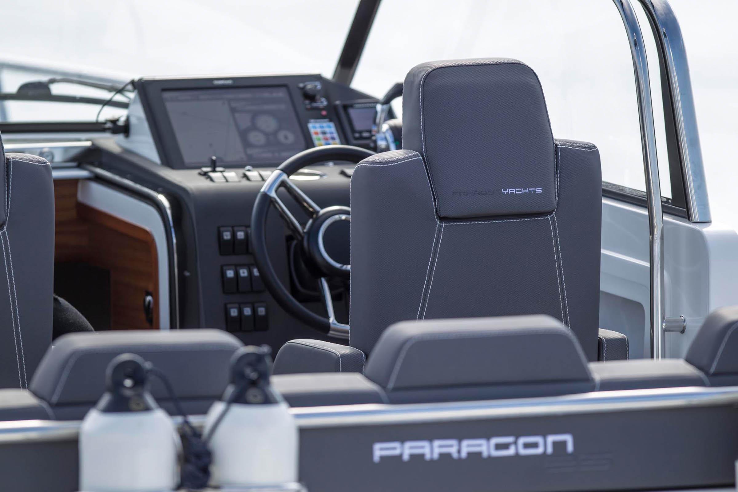 Inside a Paragon Motorboat