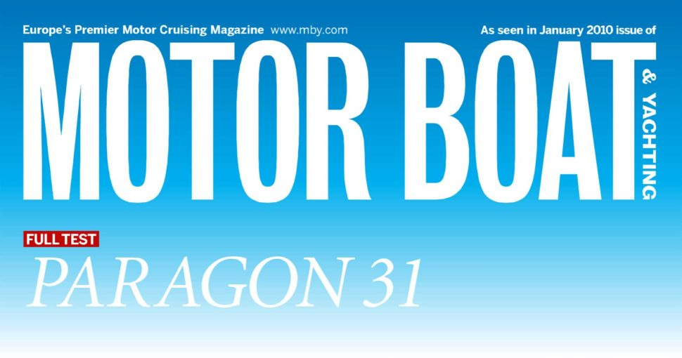 Paragon 31 in Europe's premier motor cruising magazine